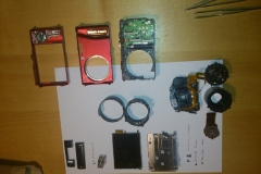 Panasonic Lumix DMC-TZ20 disassembled