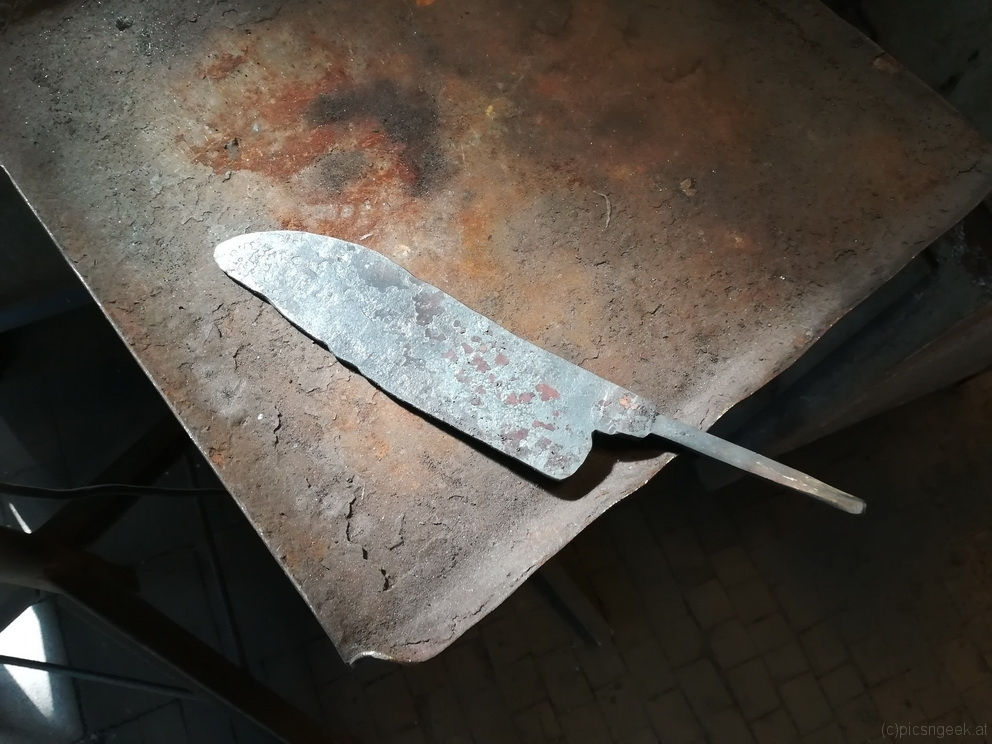 after forging