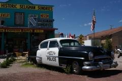 Seligman police car