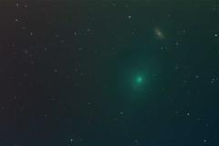 2019-02-13 C2018 Y1 Iwamoto mit NGC 2903 Am Arlandgrund Comet + Stars