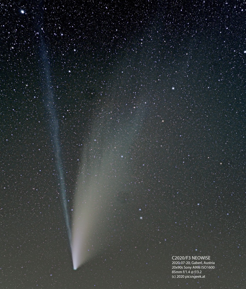 2020-07-20-C2020-F3-NEOWISE-Plankogel-A99ii-85-f1.4@-f3.5-20x90s-ISO1600-levels-label