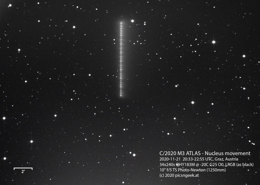 2020-11-21 C2020 M3 ATLAS - LRGB - Nucleus movement