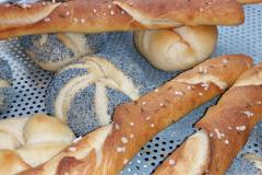 Kaiser rolls and Salzstangerl