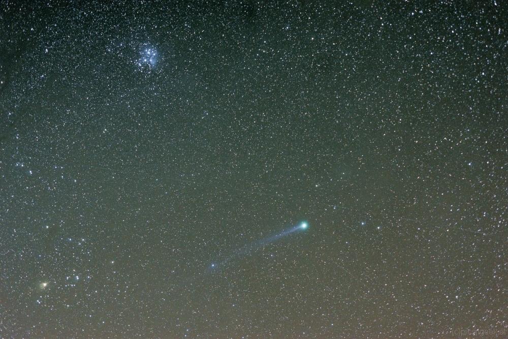 Comet Lovejoy C2014Q2 70mm f2.8 6x180s, Star Adventurer, St. Hemma 2015-01-13