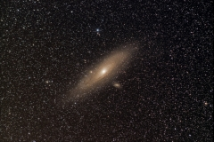 M31 200mm f4.0 300s, Sony Alpha 58, Star Adventurer, Weinebene 2017-01-26